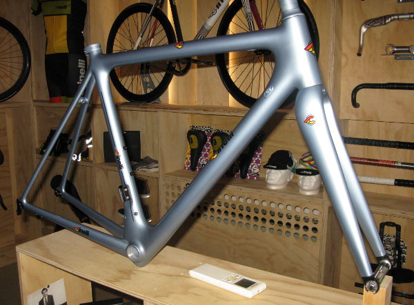 First Look 2014 Cinelli Road Bike Action
