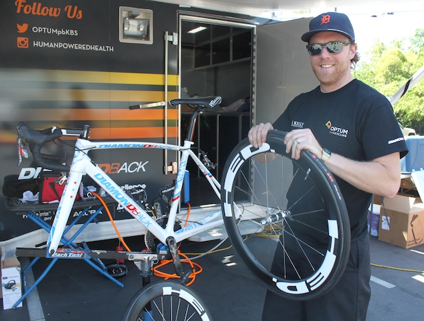 Optum s head mechanic Eric Jellum has been with the team for eight seasons  and spends the vast majority of March through September on the roads of the  U.S. ... 16c0b08a5