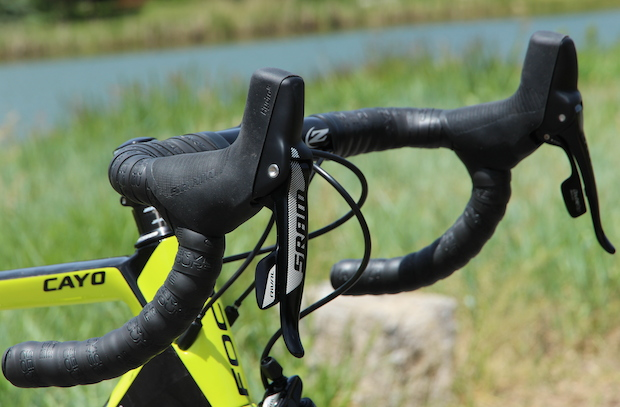 First Look Sram Rival 22 Group Road Bike Action