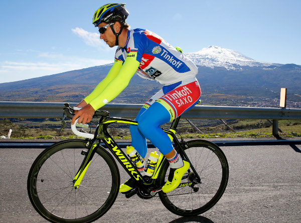 Peter sagan and mt etna