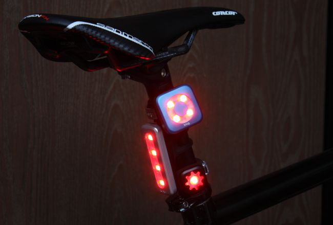 Lunch Ride Review Knog Blinder Lights Road Bike Action