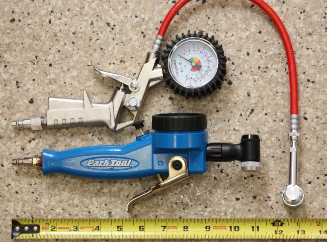 Oakley Gauge 8 >> Shootout: Air Compressor Inflators | Road Bike Action