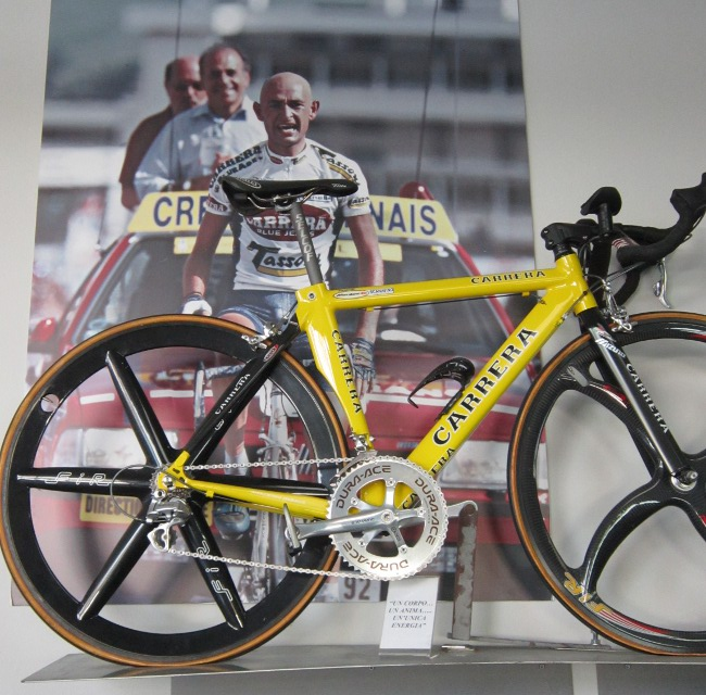 Being There: The Carrera Factory | Road Bike Action