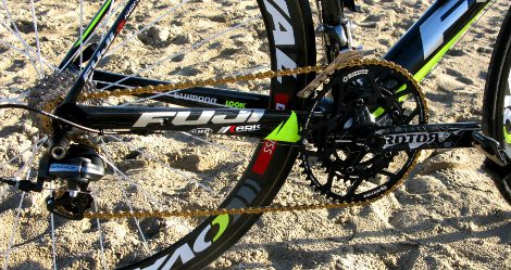 Escudero Escéptico Bajar  Up Close: Fuji Geox Team Bikes – Road Bike Action