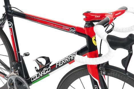 First Look Colnago Ferrari Cf8 Road Bike Action