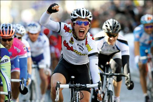Driedaagse van de Panne etappe 3A 2008