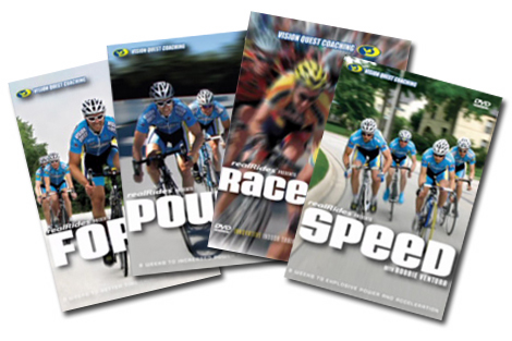 Cycling Training DVDs Carmichael Training Progressive Power Workouts