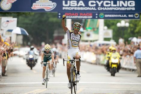 USA Cycling Pro Championships Road Race: Hincapie Claims ...