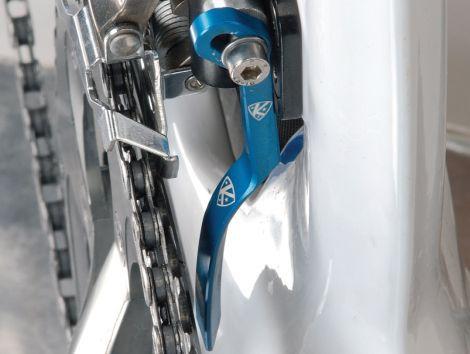 K-Edge Road Braze-On Chain Catcher Gunmetal K Edge