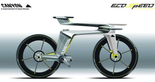 First Look Canyon Ecospeed Concept Bike Road Bike Action