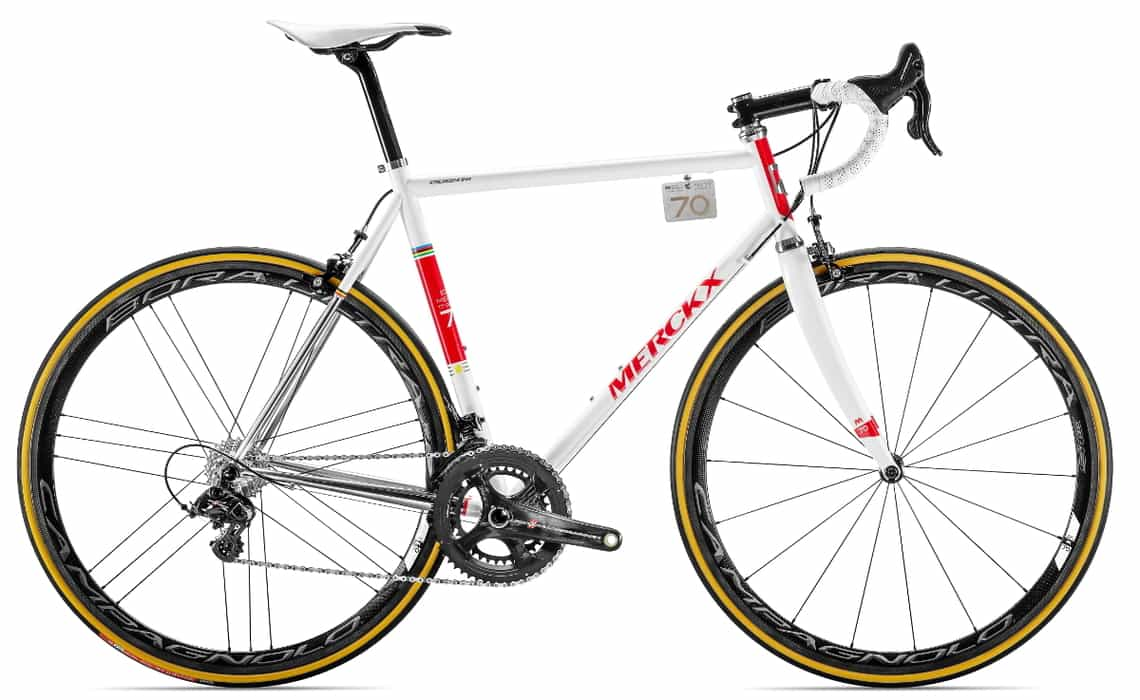 Limited Edition Eddy Merckx Road Bike Action