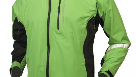 Men's Double Century RTX Jacket front Lime
