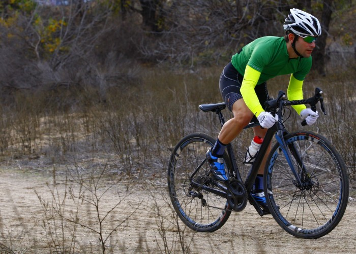 The Jamis Renegade Elite has a comfortable ride quality no matter what terrain we took it on.