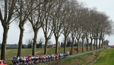 The French countryside also provides a beautiful backdrop for racing.