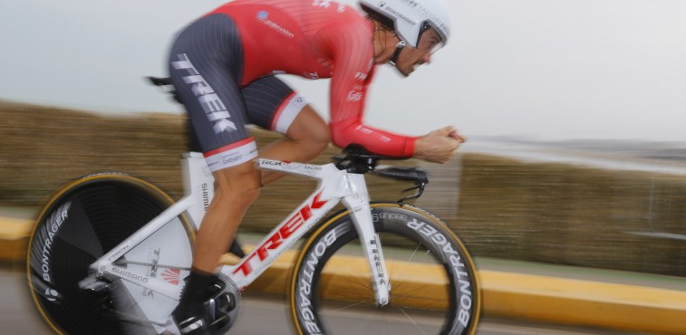 Cancellara in his element, the time-trial at Tirreno-Adriatico.