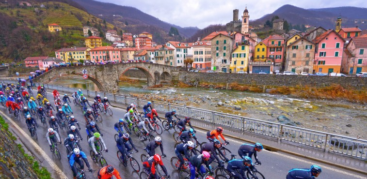 The beauty of Italy is a big part of what makes Milan-San Remo a true Classic.