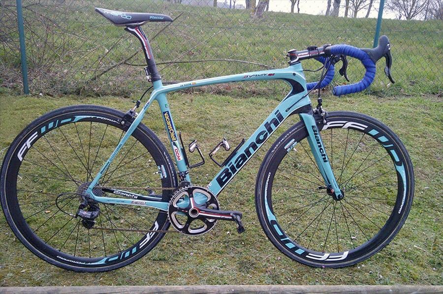 bianchi history from paris roubaix