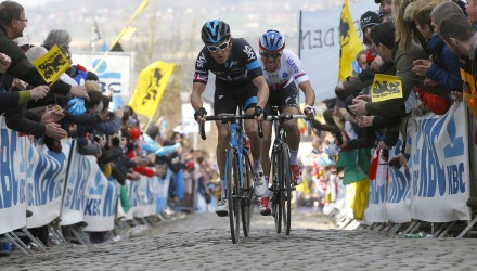 Two other key men to watch were Sky's Geraint Thomas and Etixx's Zdenek Stybar, but both finished off the podium.