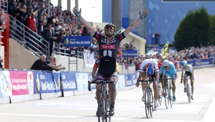 Giant-Alpecin's John Degenkolb would not be denied on this day, taking the victory at Paris-Roubaix.