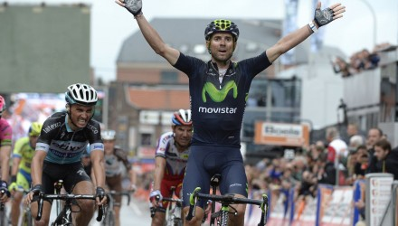 Valverde wins the 2015 edition of Liege Bastogne Liege, the third of his career.