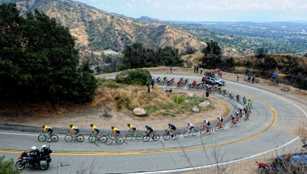 As far as climbs go, California's Mount Baldy can rival many of the famous climbs in Europe for its toughness.