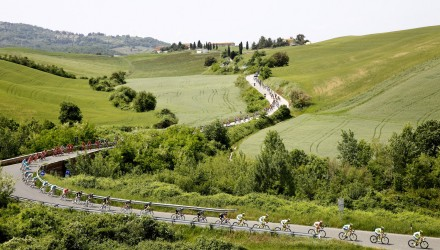 The Giro d'Italia always produces some stunning scenery.
