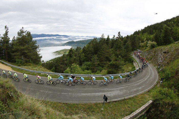 The Giro d'Italia always boasts majestic racing when it enters the mountains.