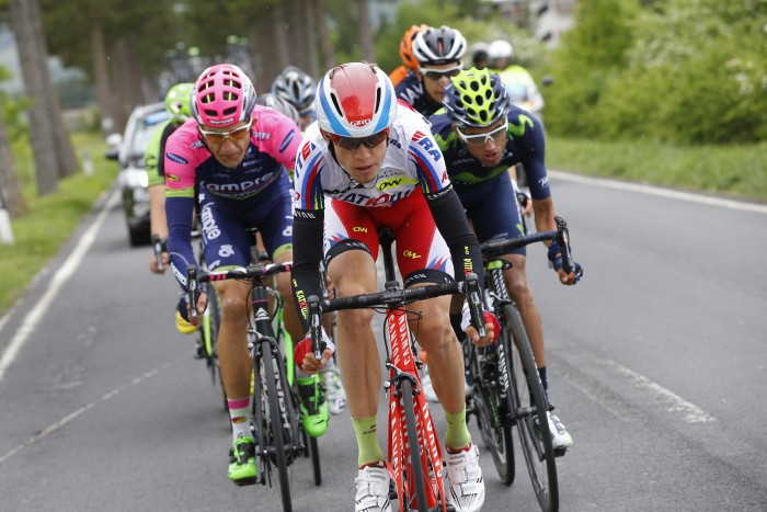 Katusha's Ilnur Zakarin was the surprise winner at the Tour of Romanie earlier this season, and should be a rider to watch for future grand tour success.