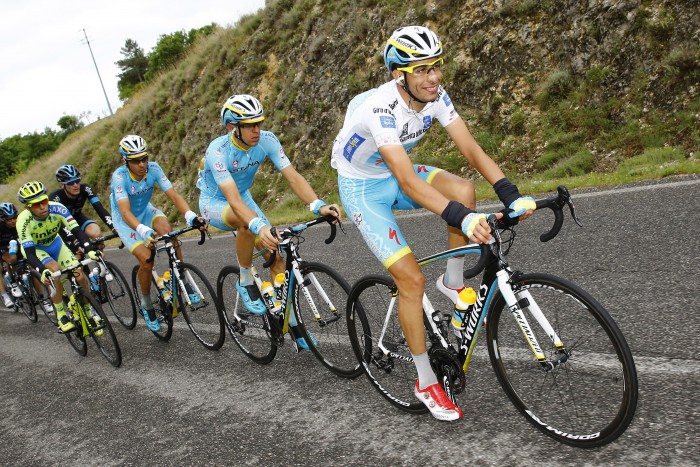 Young Italian Fabio Aru is captain of his Astana squad for the Giro, and is already poised for a big overall result.