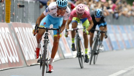 GC hopeful Fabio Aru was able to build a gap on his rivals, Alberto Contador and Richie Porte, gaining 1 second back in the overall standings.
