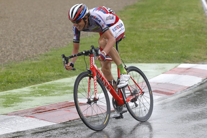 After his win at the Tour de Romandie earlier this season and his victory on Stage 11 of the Giro, cycling fans should get used to seeing the lean, lanky figure of Ilnur Zakarin at the front of a bike race.