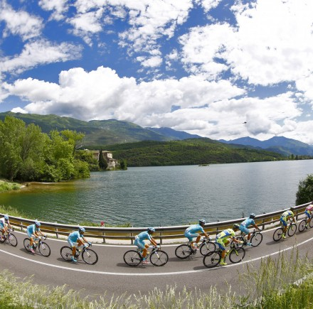 The Giro d'Italia is often considered the most beautiful of all the grand tours.