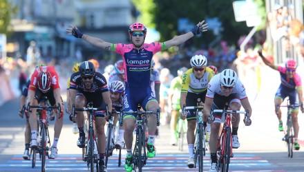 Giro d' Italia 2015 - 98a Edizione - 17a tappa Tirano - Lugano 134 km 27/05/2015 - Sacha Modolo (Lampre - Merida) - foto Ilario Biondi/BettiniPhoto©2015