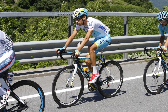 Astana's Fabio Aru is expected to keep the Best Young Rider's white jersey all the way through the Giro's finish on Sunday.