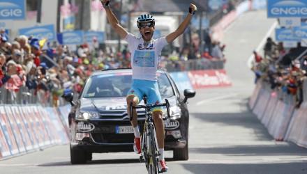 Giro d' Italia 2015 - 98a Edizione - 19a tappa Gravellona Toce - Cervinia 236 km - 29/05/2015 - Fabio Aru (Astana) - foto Luca Bettini/BettiniPhoto©2015