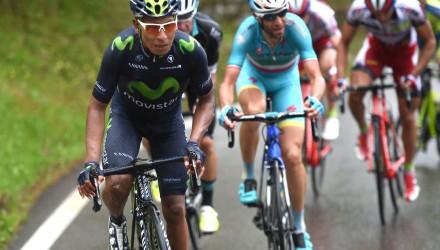 Tour de Romandie 2015 - 5a tappa - Freiburg - Chapex-Lac 162,7 km - 02/05/2015 - Nairo Quintana (Movistar) - Vincenzo Nibali (Astana) - foto Graham Watson/BettiniPhoto©2015