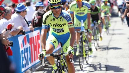 Giro d' Italia 2015 - 98a Edizione - 20a tappa Saint-Vincent - Sestriere 199 km - 30/05/2015 - Roman Kreuziger (Tinkoff - Saxo) - foto Ilario Biondi/BettiniPhoto©2015