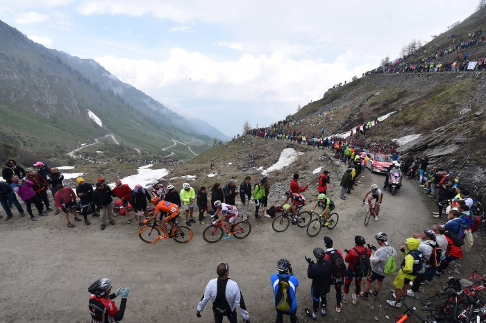 "Stage 20 was the ""Queen Stage"" of the 2015 Giro d'Italia."