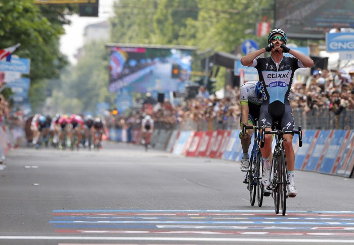 In what was billed as a day for the sprinters, the final stage of the Giro d'Italia came down to a two-man breakaway, with Etixx-Quick-Step's Iljo Keisse beating out Orica-GreenEdge's Luke Durbridge for the win.
