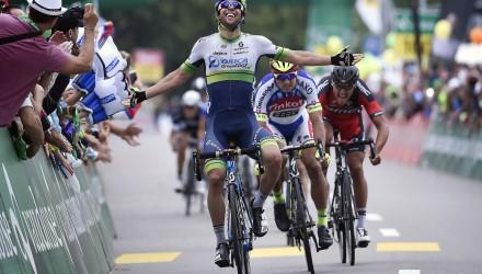 Tour de Suisse 2015 - 4a tappa Flims Laax Falera - Schwarzenbach SG193.2 km - 16/06/2015 - Michael Matthews (Orica - GreenEdge) - foto Vincent Kalut/PN/BettiniPhoto©2015