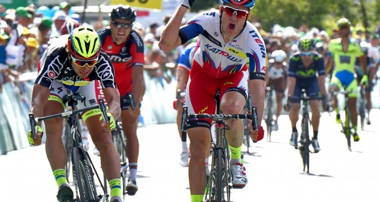 Tour de Suisse 2015 - 7a tappa Biel Bienne - Dudingen 152.5 km - 19/06/2015 - Alexander Kristoff (Katusha) - Peter Sagan (Tinkoff - Saxo) - foto Graham Watson/BettiniPhoto©2015