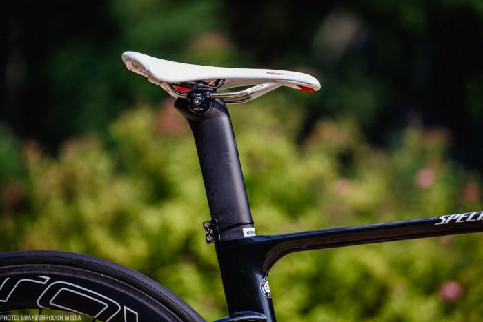 Mark Cavendish uses a Specialized Phenom saddle. Photo: Iri Greco / BrakeThrough Media