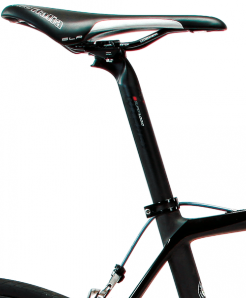 Between the 27.2mm seatpost and the variety of small-diameter tube shapes, the Wilier boasts a compliant ride quality.