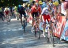 Katusha's Joaquim Rodriguez took the lead up the Mur de Huy and never looked back.