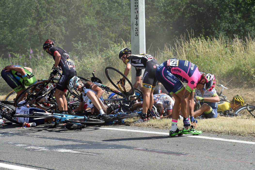 Tour De France Crash  Stage  Results
