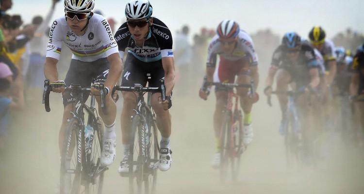 Tour de France 2015 - 102a Edizione - 4a tappa Seraing-Cambrai km 221 - 06/07/2015 - Michal Kwiatkowski (Team Etixx - Quick Step) - Tony Martin (Team Etixx - Quick Step) - fotoNico Vereken/PN/BettiniPhoto©2015