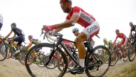 Tour de France 2015 - 102a Edizione - 4a tappa Seraing - Cambrai 223.5 km - 07/07/2015 - Nacer Bouhanni (Cofidis) - foto Luca Bettini/BettiniPhoto©2015