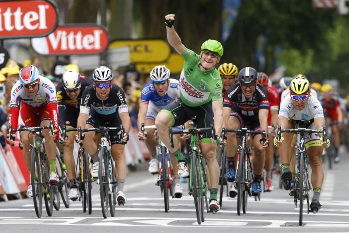 Tour de France 2015 - 102a Edizione - 5a tappa Arras - Amiens 189.5 km - 08/07/2015 - Andre Greipel (Lotto Soudal) - foto Luca Bettini/BettiniPhoto©2015