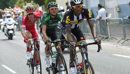 Tour de France 2015 - 102a Edizione - 6a tappa Abbeville - Le Havre 191.5 km - 09/07/2015 - Daniel Teklehaimanot (MTN - Qhubeka) - foto Graham Watson/BettiniPhoto©2015