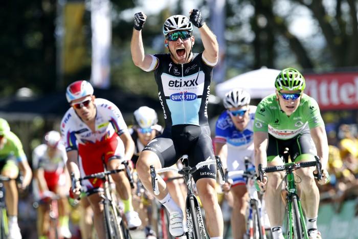 Tour de France 2015 - 102a Edizione - 7a tappa Livarot - Fougeres 190.5 km - 10/07/2015 - Mark Cavendish (Etixx - Quick Step) - foto Luca Bettini/BettiniPhoto©2015